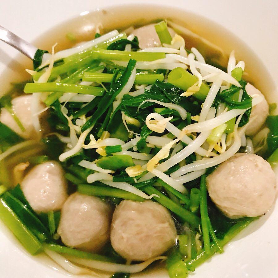 เมนู อาหารเช้า - เกาเหลาน้ำใสเน้นผัก